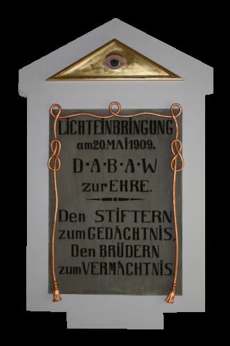 Erinnerungstafel