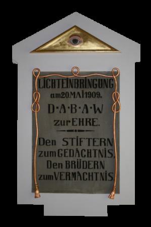 Stiftungsfest mit TA°1, Damenprogramm + weiße Tafel
