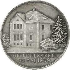 Münze zur Hauseinweihung